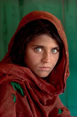 ©Steve McCurry Afgan Girl.