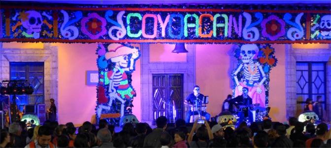 Celebraciones del Día de Muertos Coyoacán