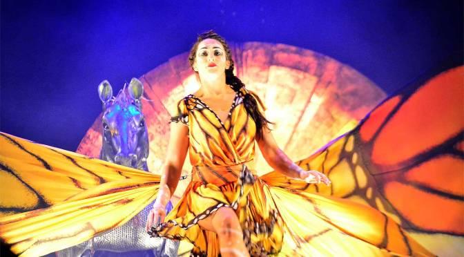 Luzia de Cirque du Soleil en México